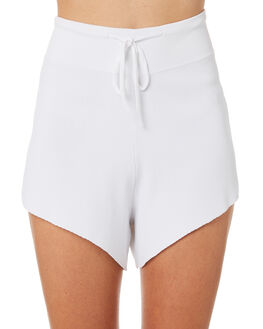 WHITE WOMENS CLOTHING ZULU AND ZEPHYR SHORTS - ZZ2202WHT