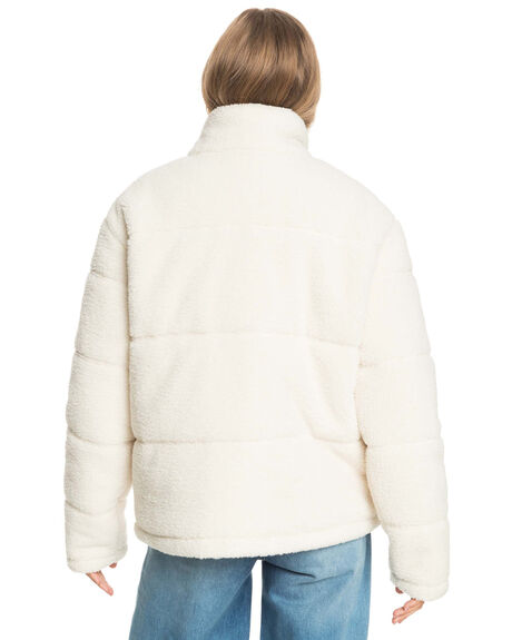 NATURAL WOMENS CLOTHING ROXY JACKETS - ERJJK03417-YEF0