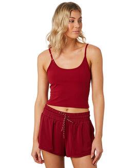 CHERRY WOMENS CLOTHING LORNA JANE ACTIVEWEAR - 101915CHR