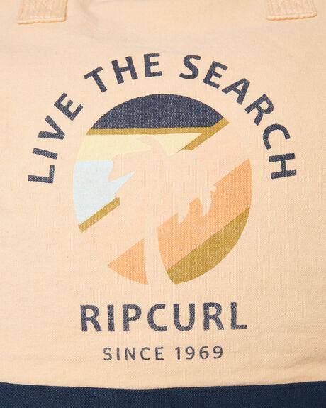 LIGHT PEACH WOMENS ACCESSORIES RIP CURL BAGS + BACKPACKS - LSBNK19724