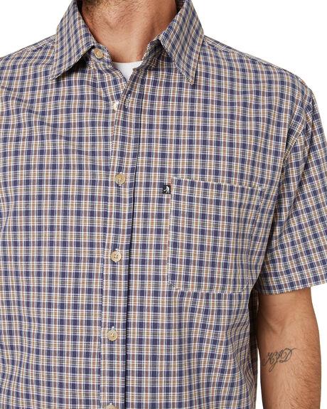 NAVY MENS CLOTHING PASS PORT SHIRTS - PPWOVENSNVY