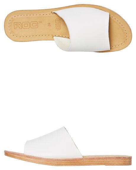WHITE OUTLET WOMENS ROC BOOTS FASHION SANDALS - BELIZEWHT