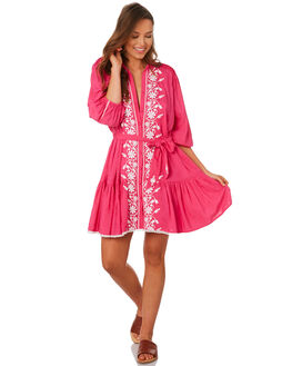 PINK WOMENS CLOTHING TIGERLILY DRESSES - T392462PINK
