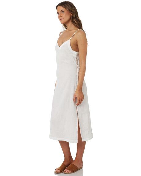WHITE WOMENS CLOTHING RHYTHM DRESSES - OCT18W-DR01WHT