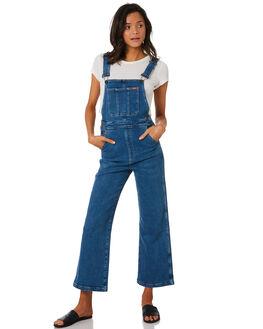 SEEKER BLUE WOMENS CLOTHING WRANGLER PLAYSUITS + OVERALLS - W-951362-KK0