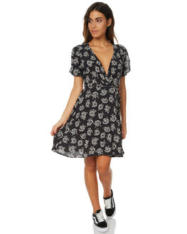 BLACK ROSE WOMENS CLOTHING THE HIDDEN WAY DRESSES - H8173441BRS