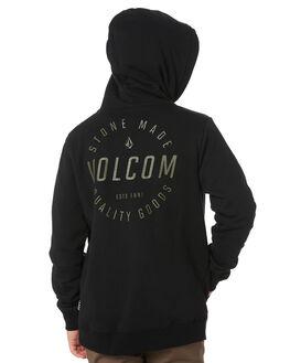 BLACK COMBO KIDS BOYS VOLCOM JUMPERS + JACKETS - C4111801BLC