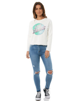 CLOUD DANCER WOMENS CLOTHING LEVI'S JUMPERS - 35940-0001CLD