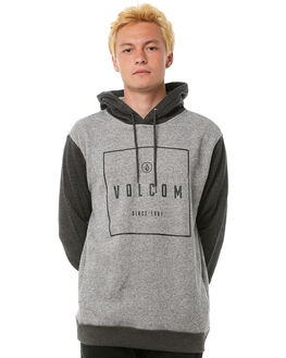 GREY MENS CLOTHING VOLCOM JUMPERS - A4111806GRY
