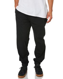BLACK MENS CLOTHING R8GZ WEAR PANTS - RG01911001SHAD