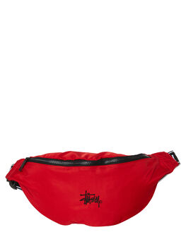 RISKY RED MENS ACCESSORIES STUSSY BAGS + BACKPACKS - ST795005RRED