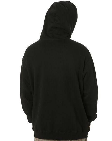 BLACK MENS CLOTHING STUSSY JUMPERS - ST001201BLK