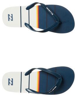 NAVY MENS FOOTWEAR BILLABONG THONGS - 9675935NVY