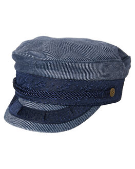 LIGHT NAVY WOMENS ACCESSORIES BRIXTON HEADWEAR - 00713LTNAV