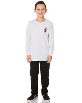 WHITE KIDS BOYS RIP CURL TOPS - KTEQV21000