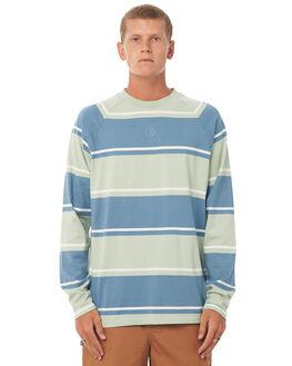 CAPTAINS BLUE MENS CLOTHING POLAR SKATE CO. TEES - KURTLSCBLU