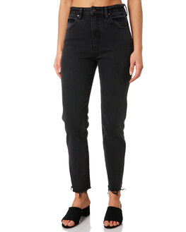 LEVEE BLACK WOMENS CLOTHING WRANGLER JEANS - W-951467-LQ6