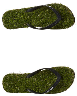 GRASS GREEN MENS FOOTWEAR KUSTOM THONGS - 4946208AGRN