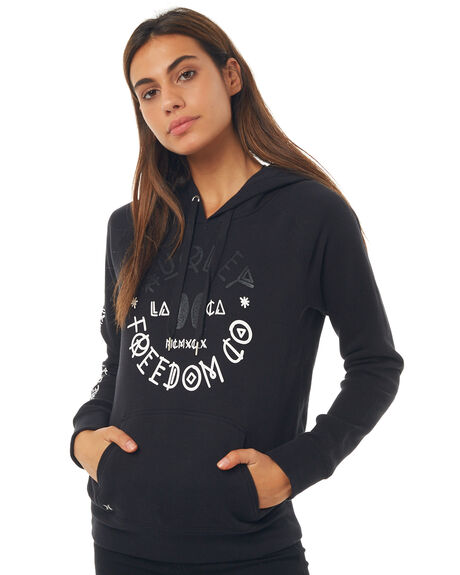 BLACK OUTLET WOMENS HURLEY JUMPERS - AGFLSGNS00A