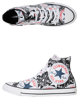 BLACK MENS FOOTWEAR CONVERSE SNEAKERS - 166985CBLK