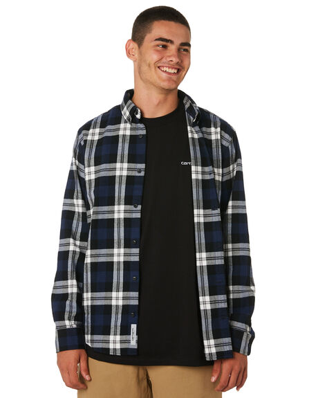 CHECK MENS CLOTHING CARHARTT SHIRTS - I025230LCHK