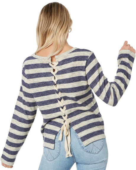 BLUE NIGHTS WOMENS CLOTHING RUSTY FASHION TOPS - MWL0231BNI
