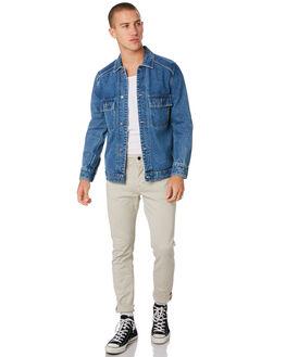 ZERO WORN BLUE MENS CLOTHING NEUW JACKETS - 334394756