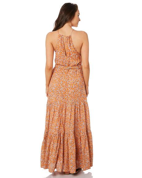 ORANGE WOMENS CLOTHING TIGERLILY DRESSES - T392463ORG