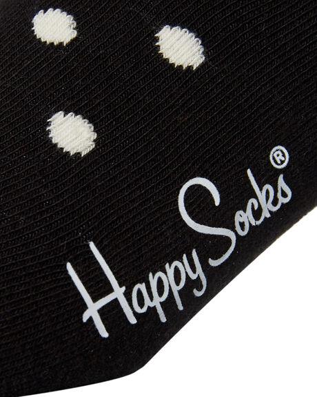 BLACK MENS CLOTHING HAPPY SOCKS SOCKS + UNDERWEAR - DO01-909BLK