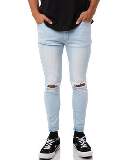 SUPER BLEACH MENS CLOTHING NENA AND PASADENA JEANS - NXRJ002SUPB