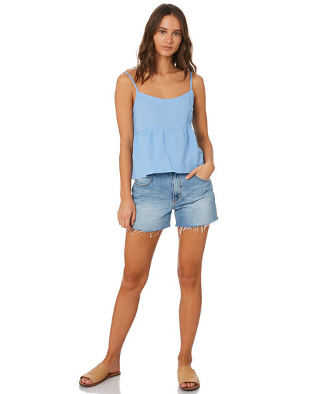 BLUE OUTLET WOMENS SWELL FASHION TOPS - S8201026BLU