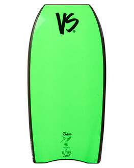 BLACK FLURO GREEN BOARDSPORTS SURF VS BODYBOARDS BODYBOARDS - VSTORQUEBLKFG