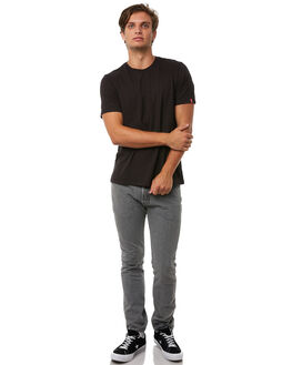 BLACK MENS CLOTHING LEVI'S TEES - 82176-0003