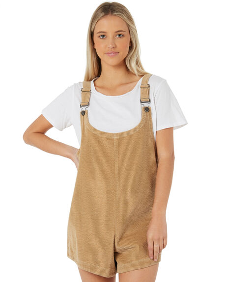 TAN WOMENS CLOTHING SWELL PLAYSUITS + OVERALLS - S8183453TAN