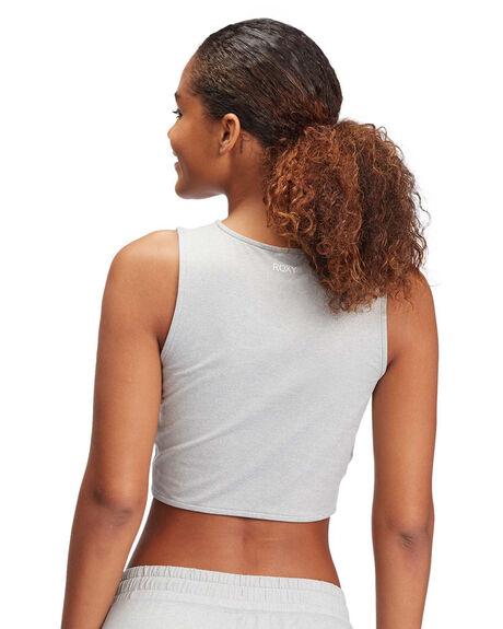 HERITAGE HEATHER WOMENS CLOTHING ROXY SINGLETS - ARJKT03337-SGRH