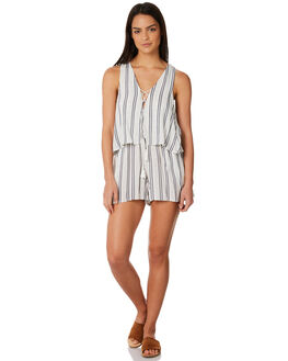 STRIPE WOMENS CLOTHING ELWOOD PLAYSUITS + OVERALLS - W84708STRIP