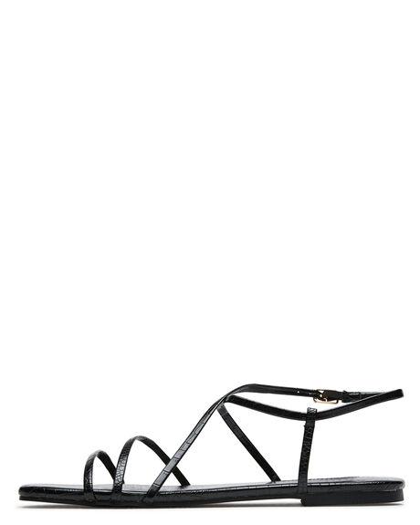 BLACK CROC WOMENS FOOTWEAR BILLINI FASHION SANDALS - S700BLKCRC
