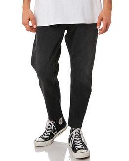 TRUSTY BLACK MENS CLOTHING ROLLAS JEANS - 15664C4474