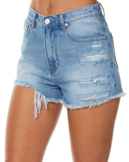 EAT YOUR HEART OUT WOMENS CLOTHING ZIGGY SHORTS - ZW-1413EYHO