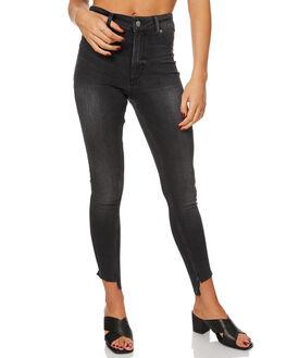 PISTOL BLACK WOMENS CLOTHING CHEAP MONDAY JEANS - 0433721PIST