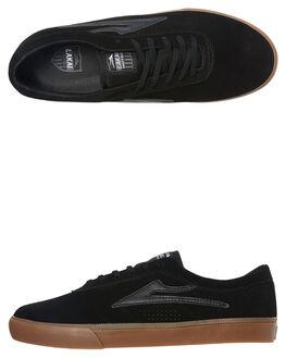 BLACK BLACK MENS FOOTWEAR LAKAI SNEAKERS - MS3190101A00BLKBK