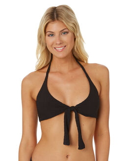 BLACK WOMENS SWIMWEAR NINE ISLANDS BIKINI TOPS - M8184344BLACK