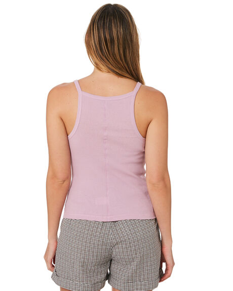 LILAC WOMENS CLOTHING STUSSY SINGLETS - ST193203LILAC