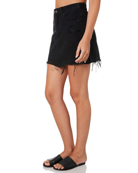 WASH BLACK WOMENS CLOTHING THE HIDDEN WAY SKIRTS - H8174471FADBK