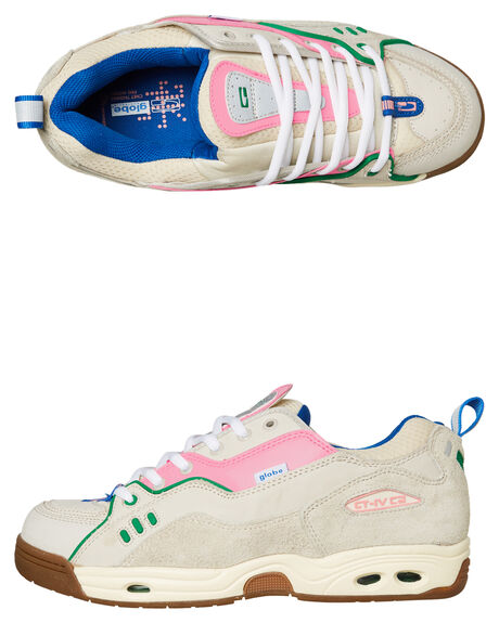 SILVER BIRCH PINK OUTLET MENS GLOBE SKATE SHOES - SSGBCTIVC14295M
