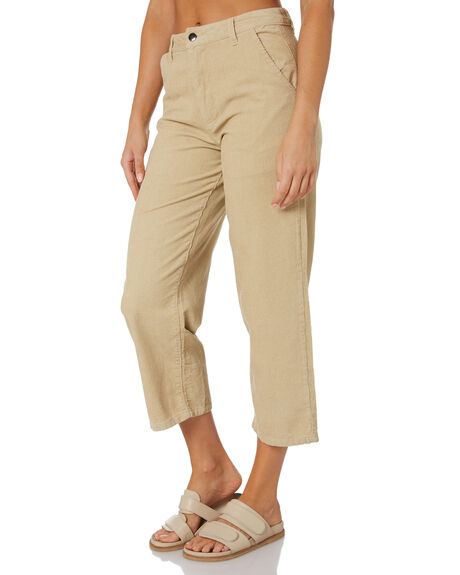 TAN WOMENS CLOTHING SWELL PANTS - S8213191TAN