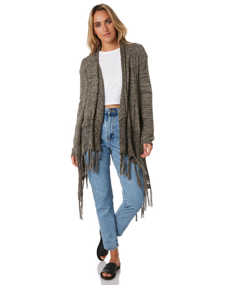 OLIVE WOMENS CLOTHING RIP CURL KNITS + CARDIGANS - GSWEI10058