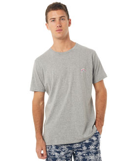 GREY MELANGE MENS CLOTHING BARNEY COOLS TEES - 120-MC4GRYM