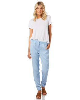 CHAMBRAY WOMENS CLOTHING SWELL PANTS - S8171195CHAMB