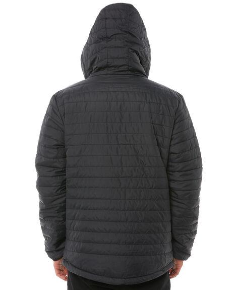BLACK MENS CLOTHING RIP CURL JACKETS - CJKCT10090